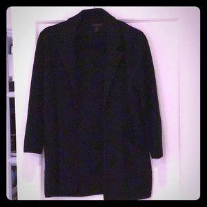 J Crew Black Sweater/Jacket